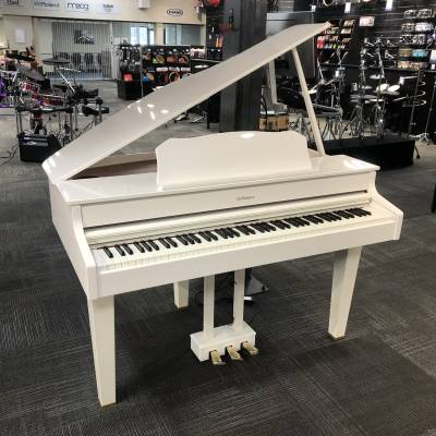 ROLAND - DIGITAL GRAND PIANO - POLISHED WHITE